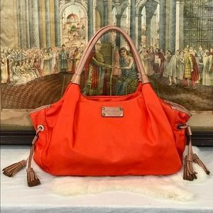 Kate Spade Nylon Nyack Stevie in Orange Sorbet